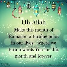 Ramadan the holey month